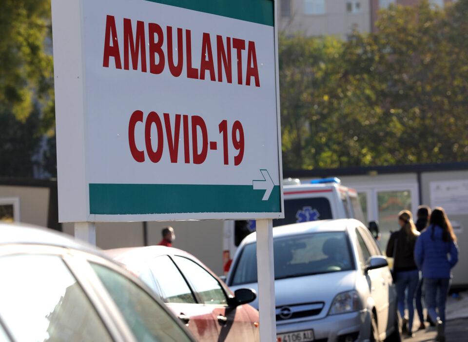 Хоспитализирани 73 пациенти за само 24 часа во Ковид центрите во Скопје