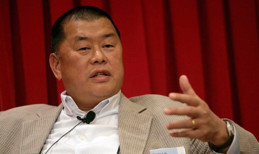 Медиумскиот тајкун Џими Лај ослободен со кауција