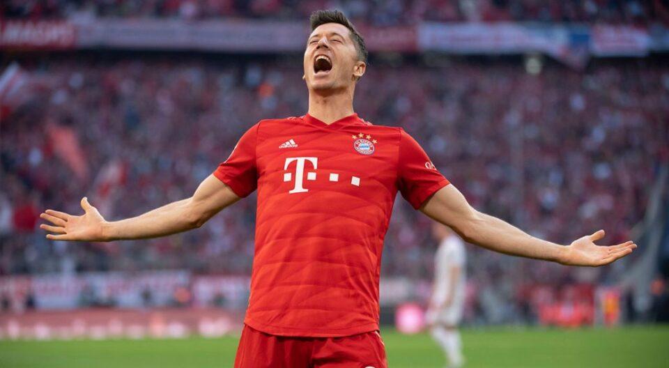 Левандовски е третиот играч во историјата на Бундеслигата кој постигнал 250 гола