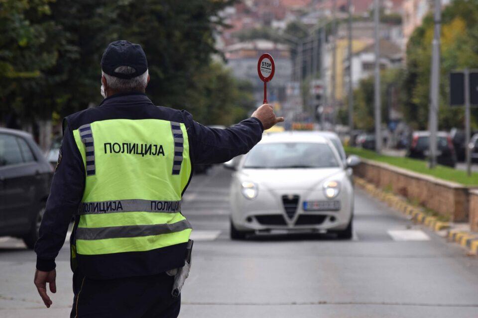 Казнети 156 возачи во Скопје