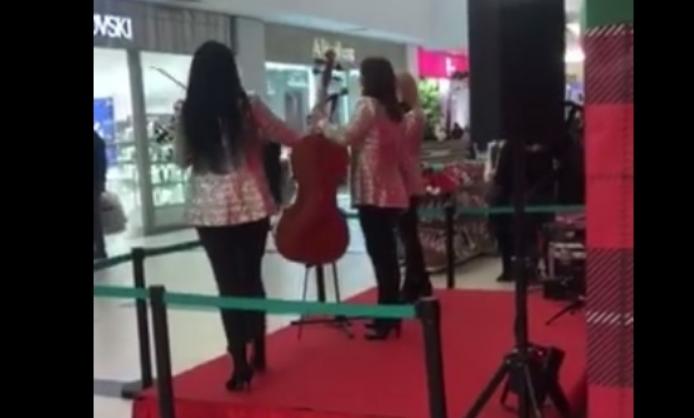 Поради настап на гудачки бенд, пазарна се закани дека ќе го затвори Сити мол