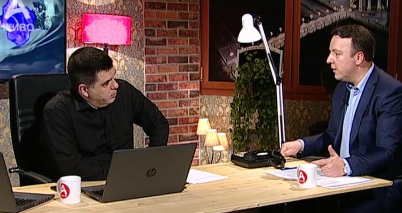 Николоски: Заев не реагира на изјавите од Бугарија зошто договарал бизниси, тој е виновен за три изгубени години и што Македонија не е во ЕУ