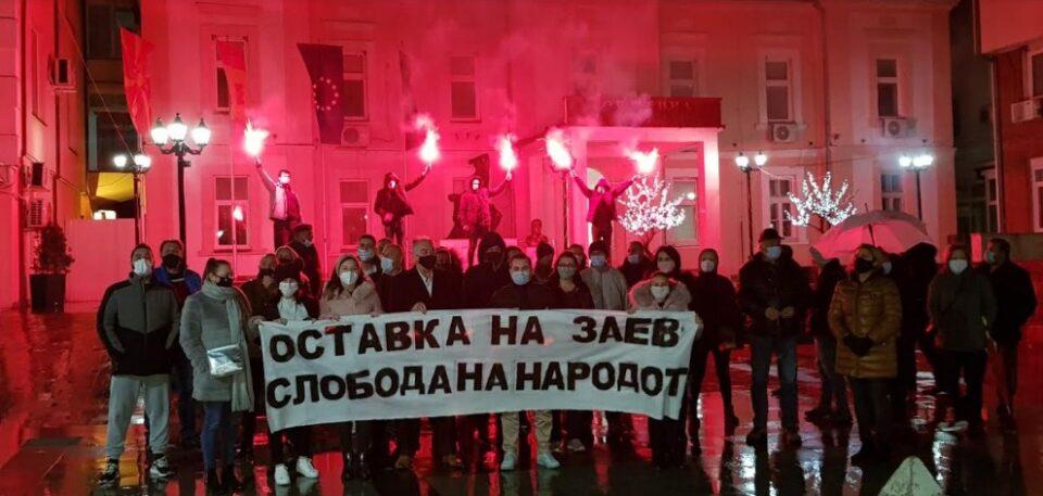 Граѓаните во Пробиштип, Крива Паланка и Свети Николе порачаа дека Македонија не е лист хартија да се брише како што на власта и одговара