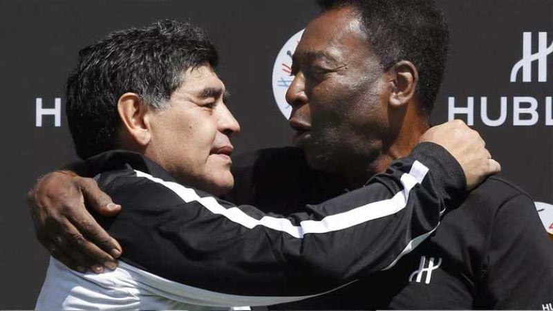 Пеле со емотивна порака до Марадона: Ти беше гениј!