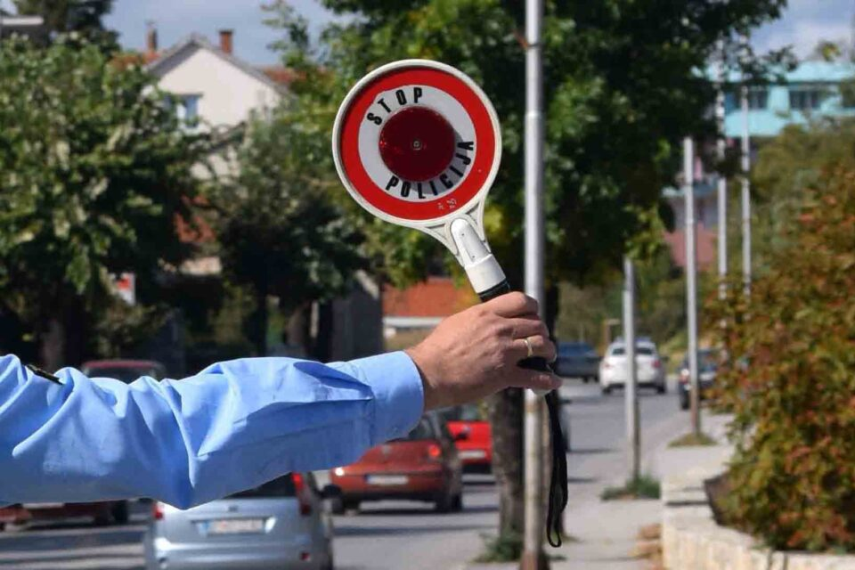 Казни за 190 возачи во Скопје