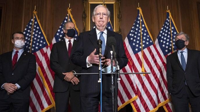 Меконел: Сенатот се договори за помошта за коронавирусот во износ од 900 милијарди долари