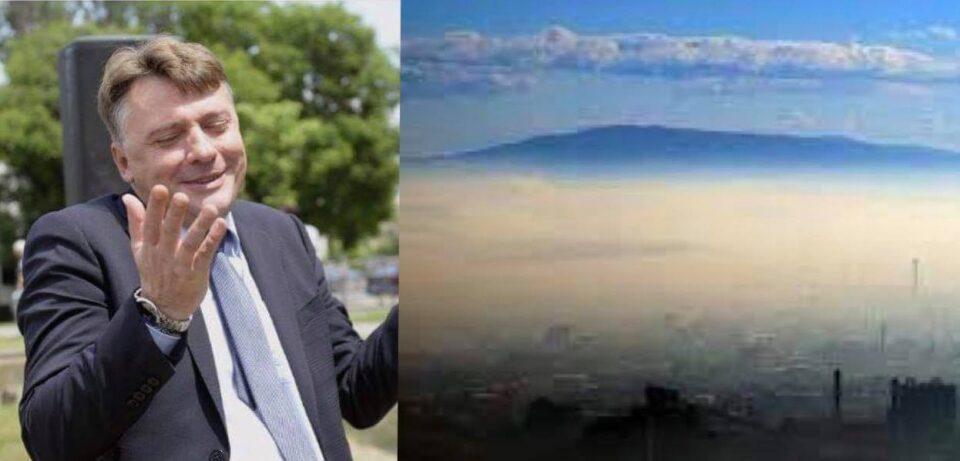 Шилегов не бил крив за аерозагадувањето, крива била маглата