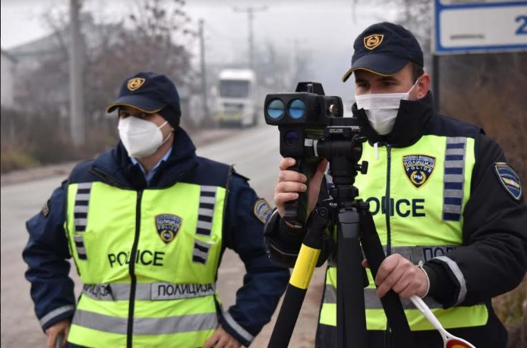МВР: 157 казнети возачи во Скопје