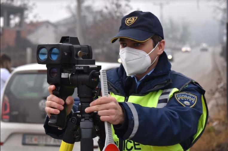 МВР: 119 санкционирани возачи во Скопје