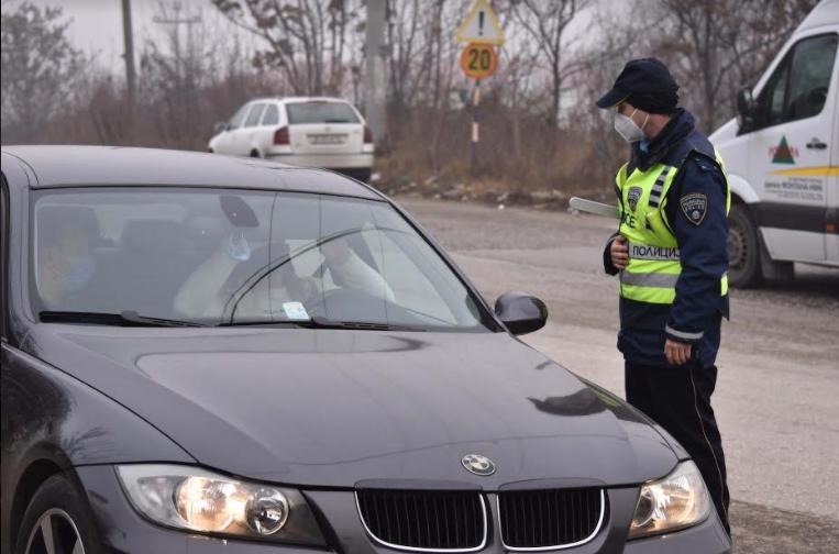 МВР: 214 санкционирани возачи во Скопје