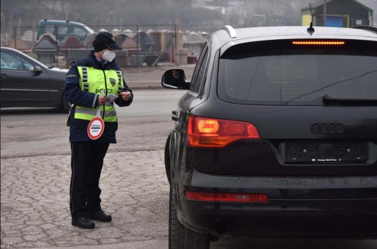 Казнети 189 возачи во Скопје