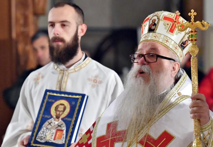 Хоспитализиран наследникот на починатиот патријарх Иринеј – и тој е заразен со коронавирус
