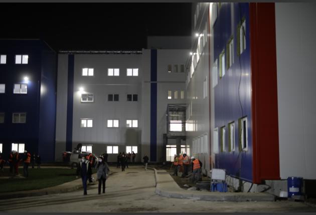 За рекордни четири месеци во Србија изградена ковид болница
