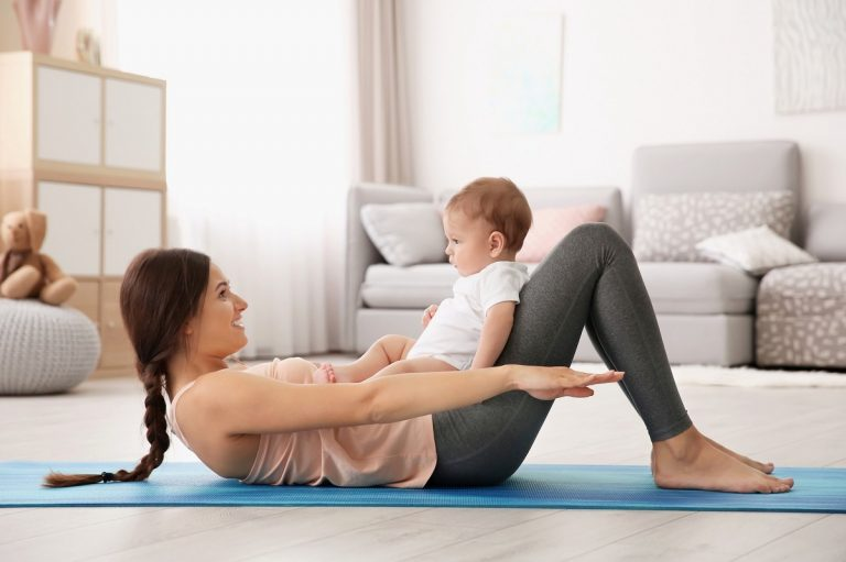 Дали новопечените мајки треба да вежбаат?