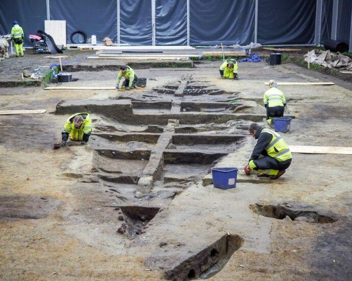 Пронајден голем викиншки брод во кој можеби бил закопан крал