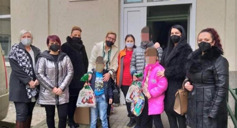 Пешевска во хуманитарна посета на ученичкиот дом во Велес