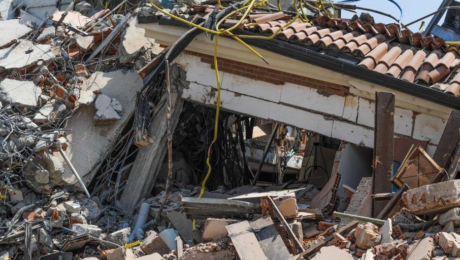 Се сруши градинка во Петриња: Крици и сирени насекаде, градоначалникот моли за помош