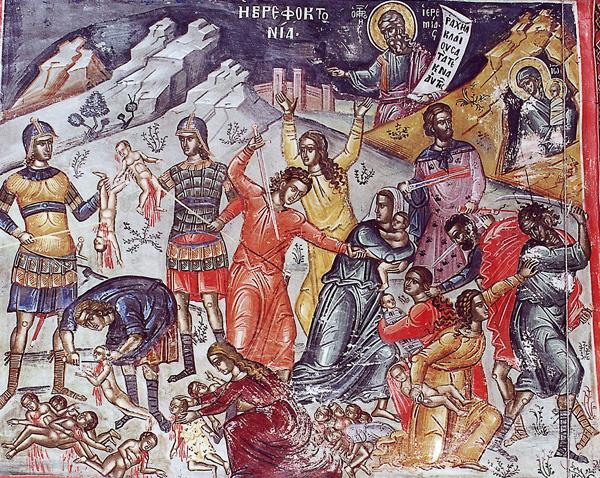 Денеска е спомен на Светите четиринаесет илјади младенци во Витлеем