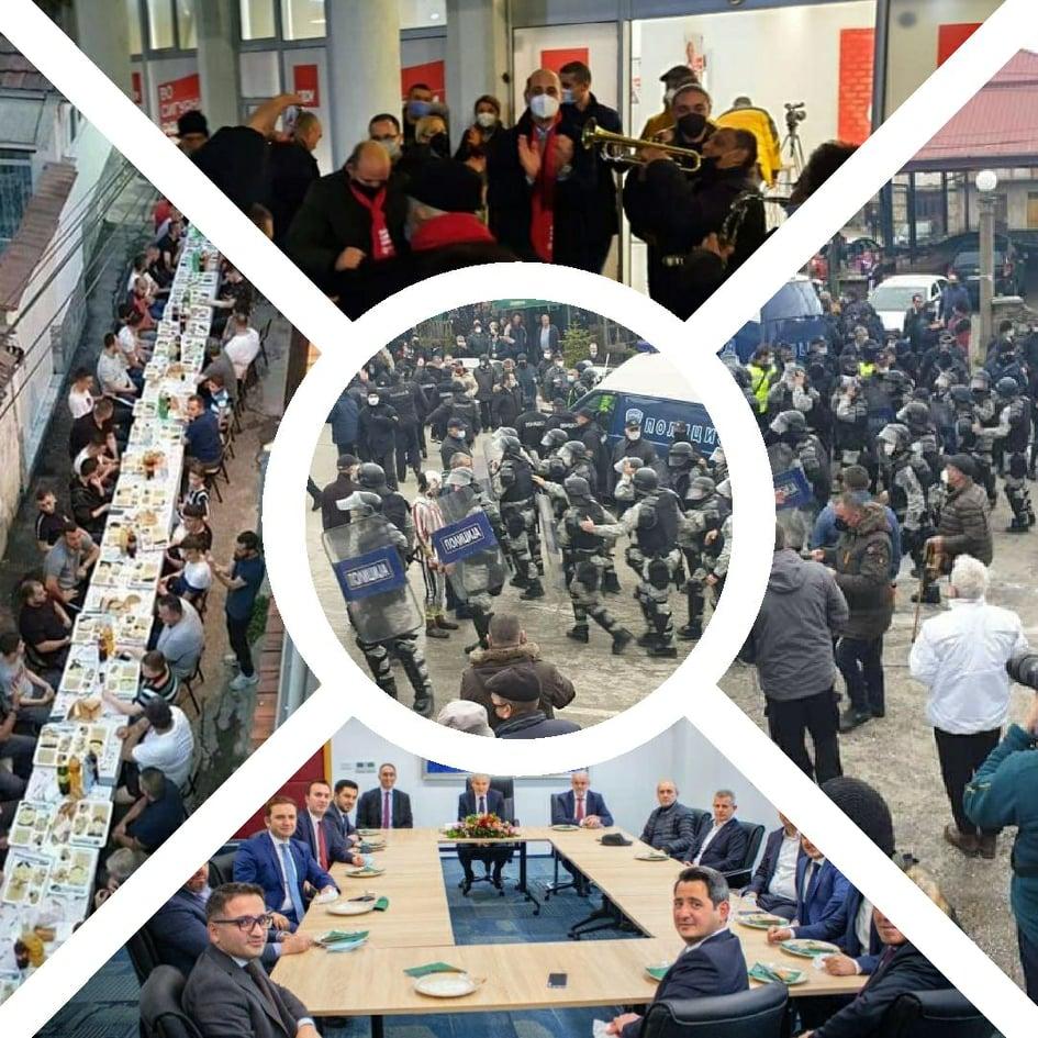 """""""БАРАВТЕ ЖИВОТ, ЕВЕ ВИ ГО"""": Социјалните мрежи вријат поради апсењето на вевчанскиот карневал (ФОТО+ВИДЕО)"""