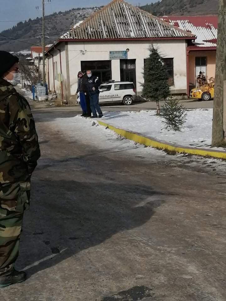 ФОТО: После Вевчани полициска бруталност и во беровско Ратево