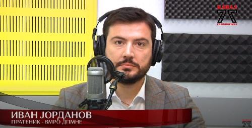 Јорданов: За пописот клучно е тоа што нема консензус, се одржува во сред пандемија, не е по препораките на ЕУРОСТАТ и се злоупотребува европското знаменце