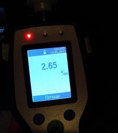ФОТО: Фатен возач со 2,65 промили алкохол во крвта, казнети 213 возачи во Скопје