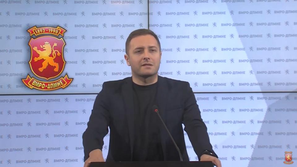 Арсовски: Дали дел од 200.000 евра од ФИТР завршиле кај советник на СДСМ од Град Скопје?