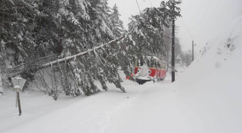 Австрија: Зголемена опасност од снежни лавини и сообраќајни проблеми