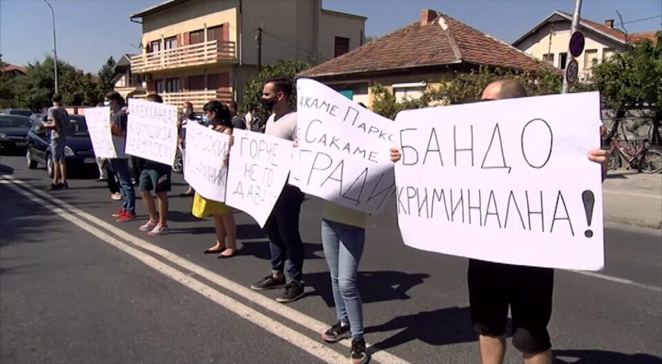 Ѓорчепетровци против урбаната мафија, највуваат големи протести