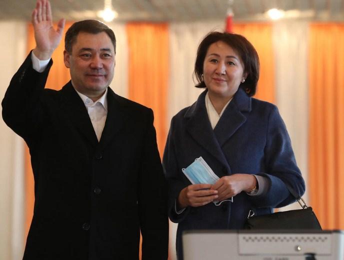 Садир Жапаров победи на претседателските избори во Киргистан