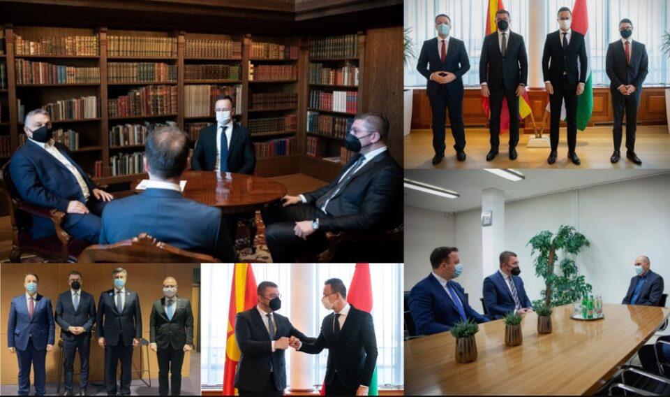 За четири дена, Мицкоски на средби со тројца премиери на држави од ЕУ, Заев загубен во просторот и времето