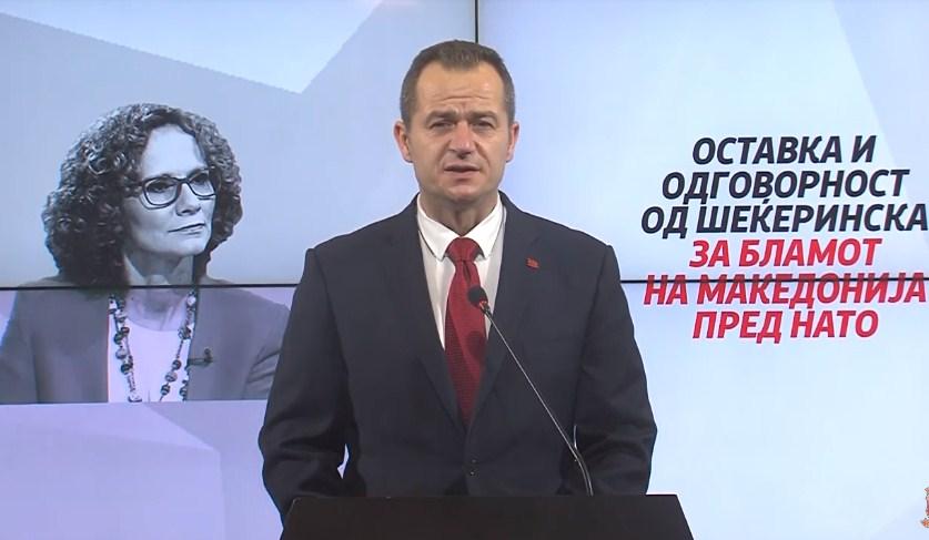 Ковачки: Оставка од Шекеринска и одговорност за бламот кој и го приредија на Македонија пред НАТО