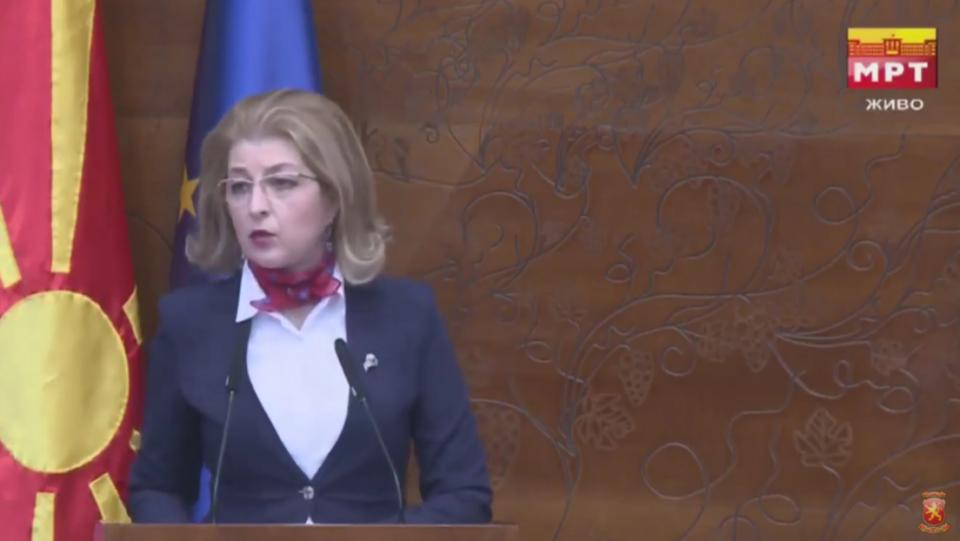 Ласовска до СДСМ: Кога бевте опозиција велевте дека Македонија е толку задолжена, што граѓаните бубрези продаваат за да се раздолжи, но денес вие им ги вадите