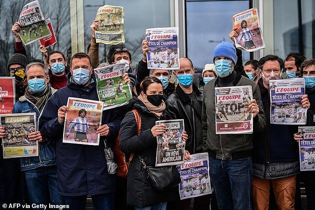 """Спортскиот весник """"Л'Екип"""" и денес го нема во киосците, продолжува штрајкот на новинарите"""