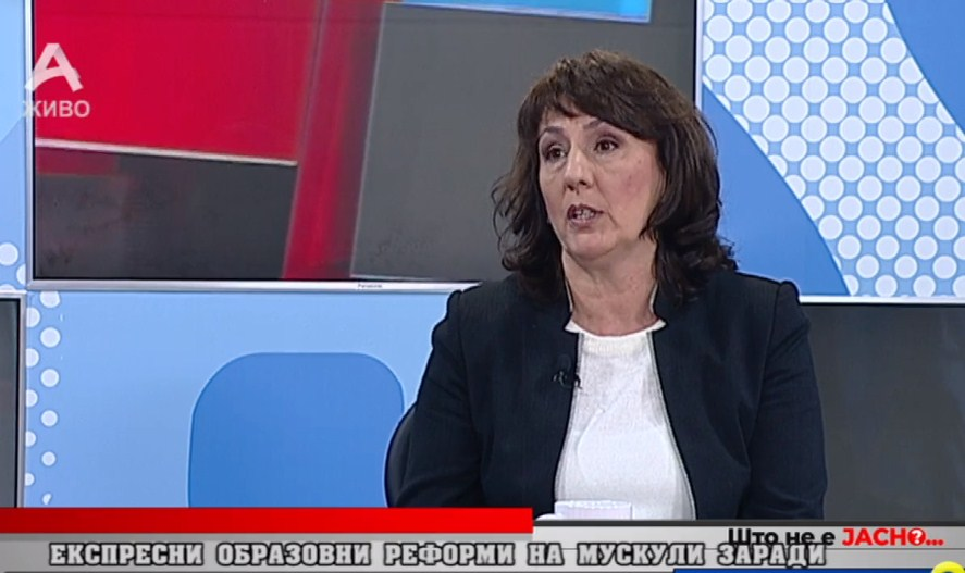 Горачинова – Илиева за Царовска: Јас не знам како таа се нафати да стане министер за образование, со вакви експерименти се влошува образовниот систем