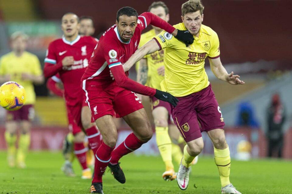 Барнли стави крај на серијата на Ливерпул од 68 натпревари без пораз на домашен терен во Премиер лигата