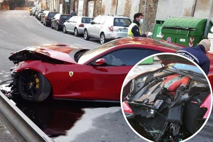 Многумина би збеснале: Работник го скрши Ферарито на славниот фудбалер, неговата реакција ги изненади сите