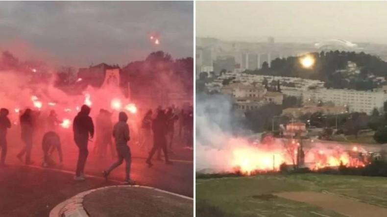 Приведени хулигани и повредени полицајци, навивачите направија хаос во Марсеј (ВИДЕО)
