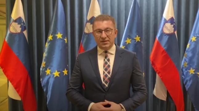 Мицкоски од Словенија: Ни треба јасна визија да се справиме со економската криза, во Македонија имаме проблем со големата корупција и невладеењето на правото