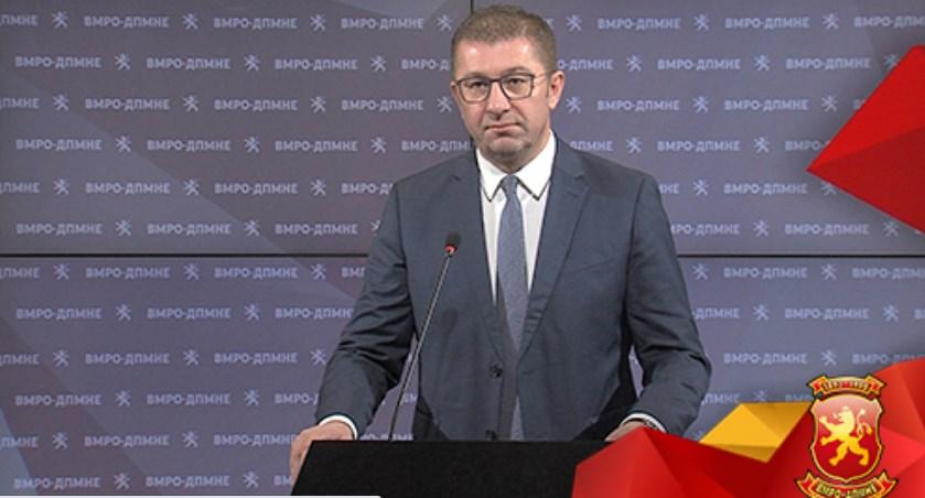 Мицкоски: Власта веднаш да го повлече законот за попис, за да се постигне општ консензус, доколку тоа не се случи ВМРО-ДПМНЕ отпочнува инцијатива за собирање граѓански потписи за поништување на насилниот закон за попис