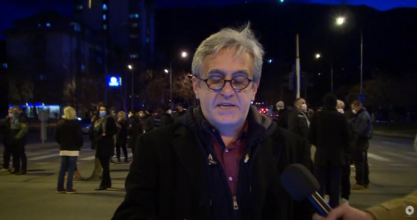 Протест против урбаната мафија во Карпош (ВИДЕО)