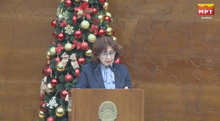 Силјановска Давкова: Џафери сакаше да го искористи нашето присуство во собранието и да си обезбеди кворум за да изгласаат други десетици закони