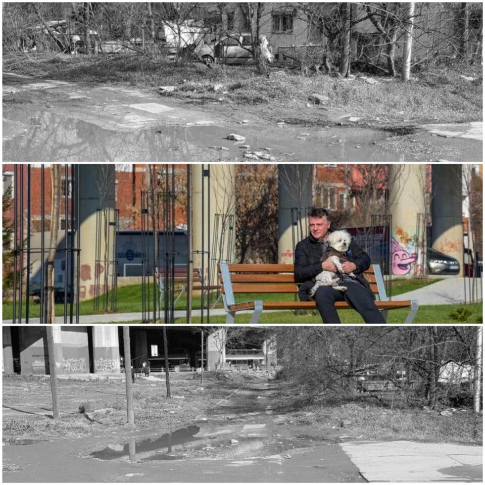 Двете страни на Скопје: Едната на фејсбук, а другата во реалноста (ФОТО)
