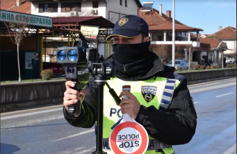 54 санкции за брзо возење во Струмица
