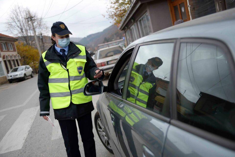 Казнет 221 возач во Скопје