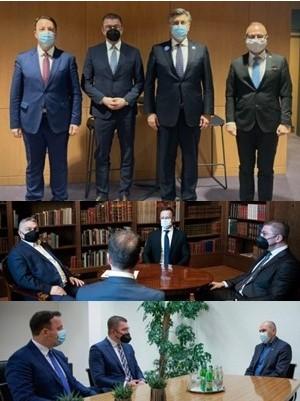 """""""Заев е изолиран политичар, пола година нема остварено ниту една билатерална средба- Мицкоски за 3 дена оствари 3 средби со тројца премиери на држави членки на ЕУ"""""""