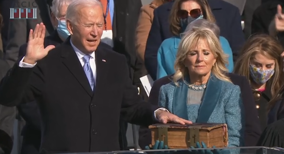 ФОТО: Џо Бајден и официјално е новиот претседател на САД