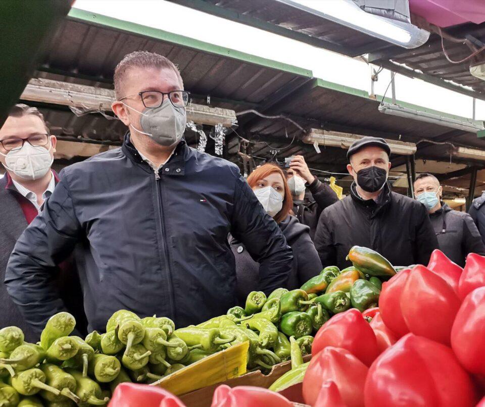 Трајановски: Прометот на пазарџиите на Зелен Пазар е драстично опаднат- проблемот го лоцираат во прескапиот паркинг на Паркинзи на општина Центар и Градски Паркинг