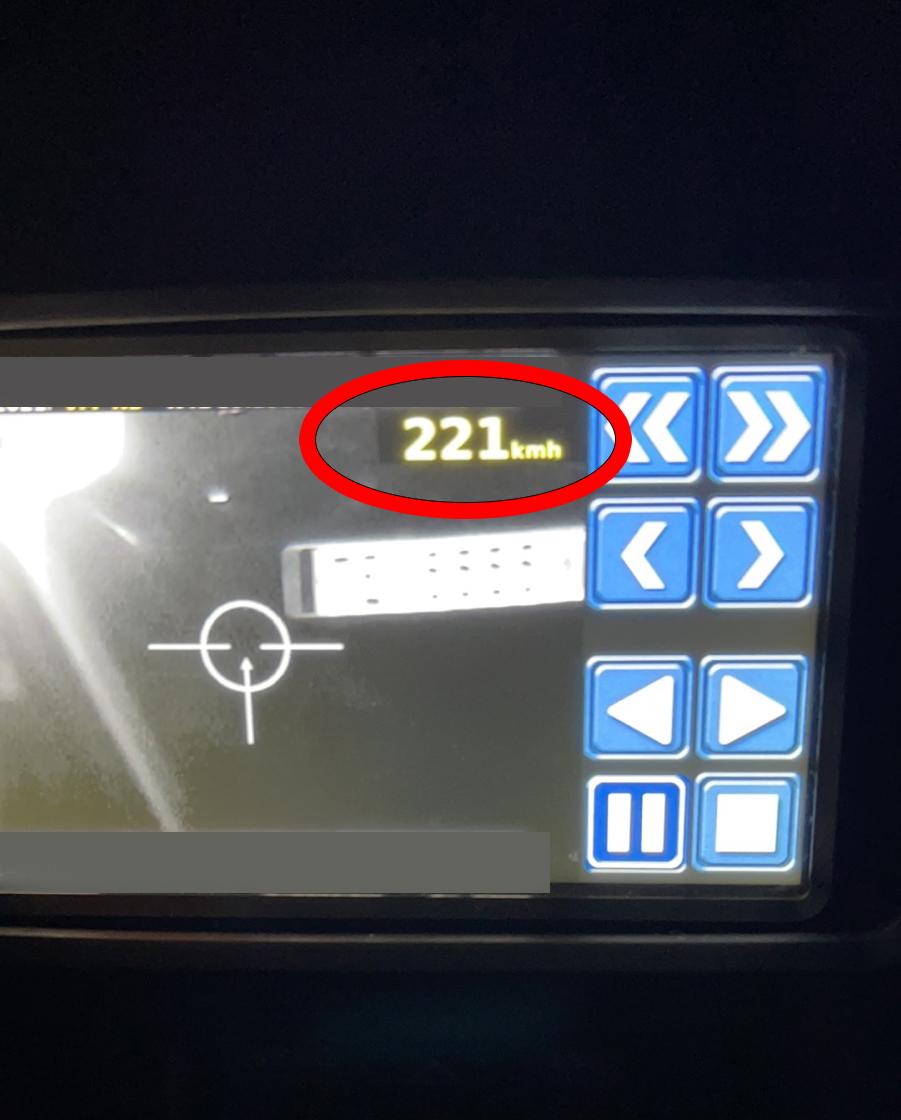 Полицијата синоќа со ноќен радар изврши акциска контрола – казнети 33 возачи за брзо возење во Тетово