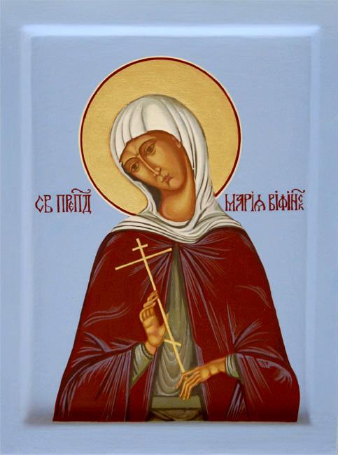 Денеска се празнува девојката со машка храброст- преподобна Марија